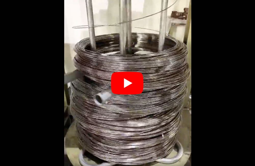 Electropolishing Wire